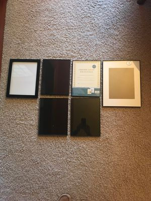 Picture Frames- Certificate size for Sale in Lakeville, MN
