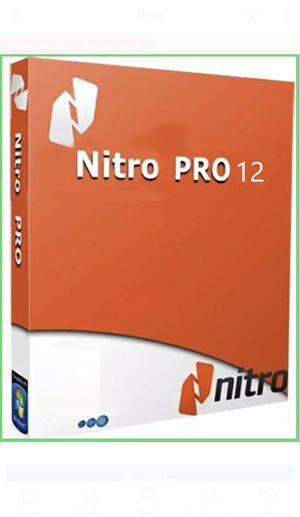 Nitro Pdf Pro 12 Genuine License Key for Sale in Beverly Hills, CA