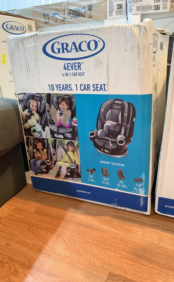 Brand new in box 4 ever GRACO carseat ages1-10 BRaND NEw