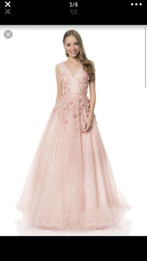 TERANI BLUSH PINK DRESS SIZE 8 for Sale in Dearborn, MI