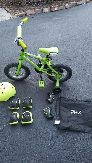 Youth 12 inch Bicycle and Safety Gear for Sale in Spencerville, MD