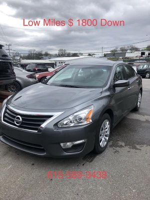 2015 Nissan Altima $ 1800 Down Payment for Sale in Nashville, TN