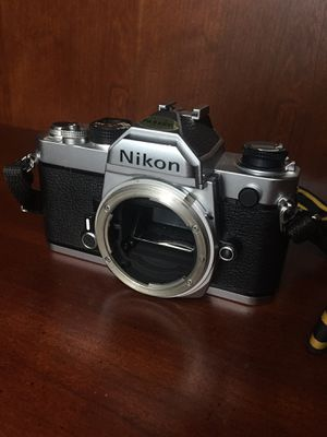 1970s 35mm Film Camera and 50mm f/2 Lens - Nikon for Sale in Dublin, OH