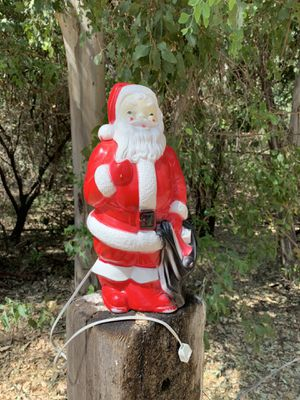 Vintage Blow Mold Santa for Sale in Chino Hills, CA