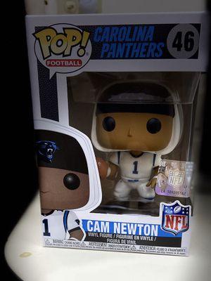Funko Pop Football Carolina Panthers Cam Newton #46 for Sale in Ives Estates, FL