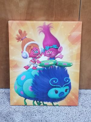 Troll Canvas Painting for Sale in Covington, WA