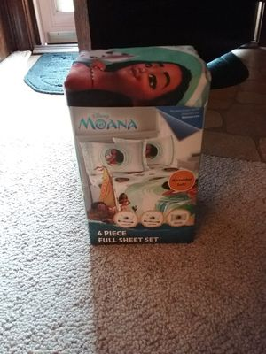 Disney Moana sheet set for Sale in Chesapeake, VA