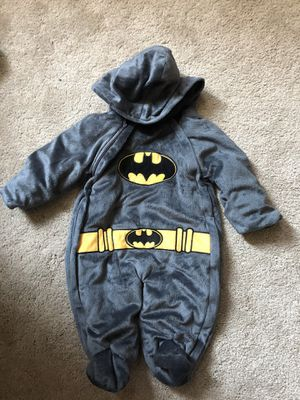 Batman Costume 3-6 mos for Sale in Cerritos, CA