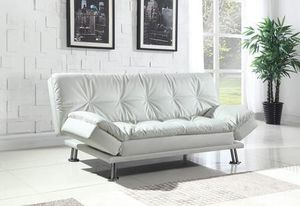 New in box white sofa bed futon for Sale in North Miami Beach, FL
