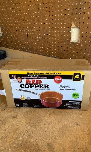 Red Copper Pot for Sale in Irvine, CA