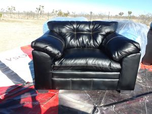 NEW BLACK SOFA CHAIR for Sale in Hesperia, CA