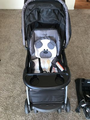 Baby Trend Stroller with car seat and its base for Sale in Valley Home, CA
