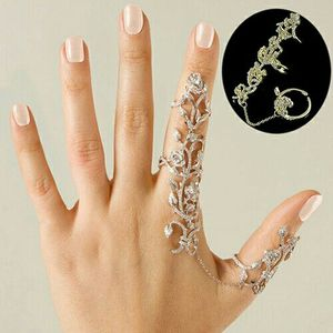 Women Multiple Rose Crystal Stack Knuckle Band Finger Rings Set Fashion Jewelry for Sale in Fairfax, VA