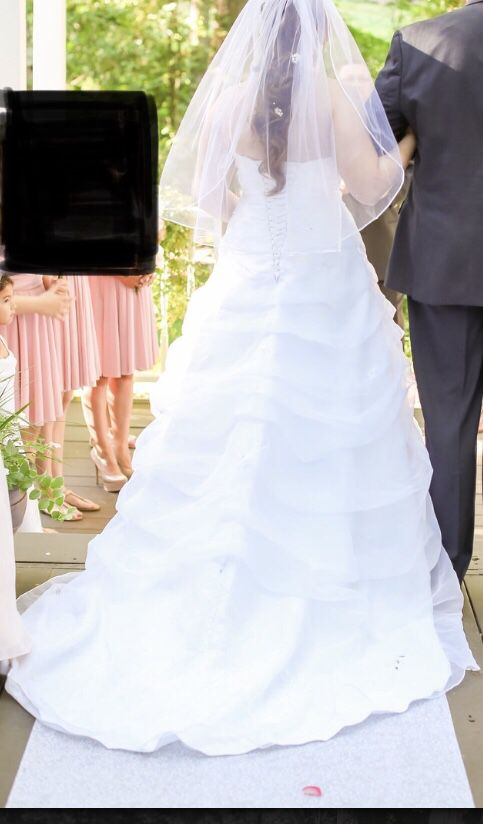 Wedding dress, used