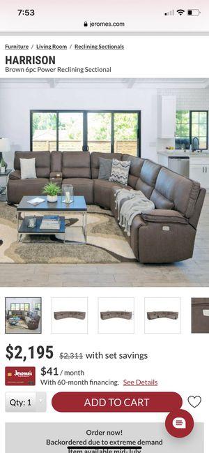 Couch sectional for Sale in El Cajon, CA