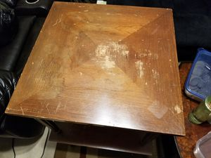 2 wooden stools , good condition for Sale in Sterling, VA