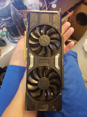 EVGA GTX 1060 FTW 6GB video card for Sale in Brownstown Charter Township, MI