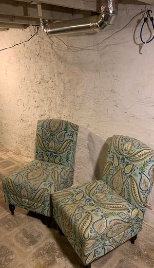 Accent chair set for Sale in Baltimore, MD