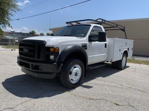 2008 ford f450 super duty utility DUALLY diesel for Sale in St.Petersburg, FL