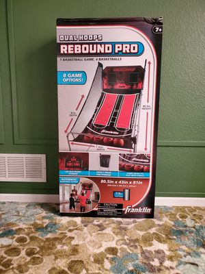 DUAL REBOUND PRO BASKETBALL HOOP for Sale in Brighton, CO
