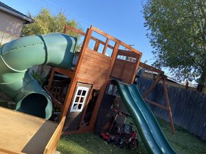 Costco Swing Set. Read description for Sale in Santa Fe Springs, CA
