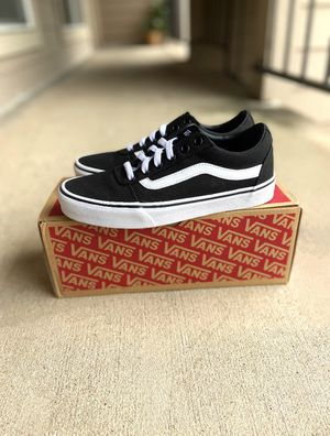 Black vans shoes size 8 for Sale in Houston, TX