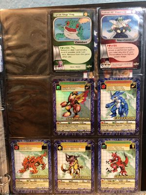 Digimon & DragonBall Z 7 Card Lot (Bandai, Score) for Sale in Buena Park, CA