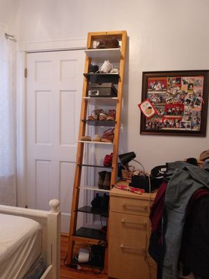 (Moving out sale)Ladder shelf/ bookcase for Sale in DORCHESTR CTR, MA