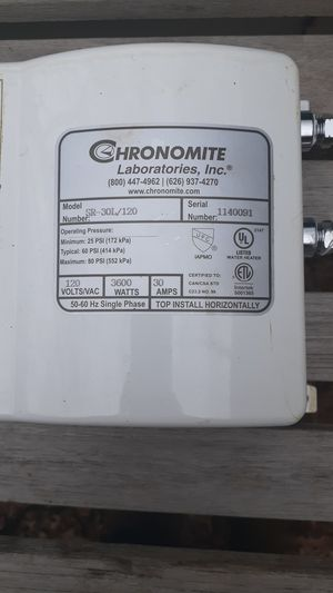 Instant water heater for Sale in San Antonio, TX