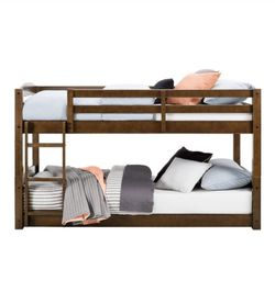 B2-163 Better Tristan Twin Bunk Bed, Mocha. NEW. for Sale in Austin,  TX