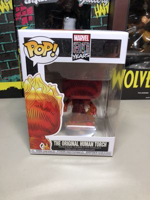 Funko Pop The Original Human Torch Action Figure Collectible for Sale in Long Beach, CA