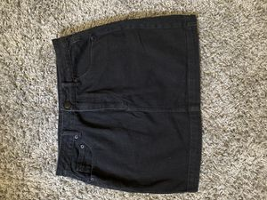 Black jean skirt for Sale in Norwalk, CA