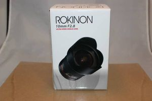Rokinon 10mm F2.8 ED AS NCS CS Ultra Wide Angle Lens Nikon Digital SLR for Sale in Alexandria, VA