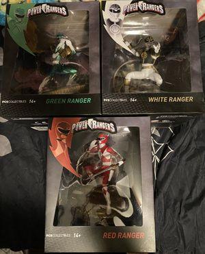 Power Rangers Statue 3 piece set for Sale in Norwalk, CA