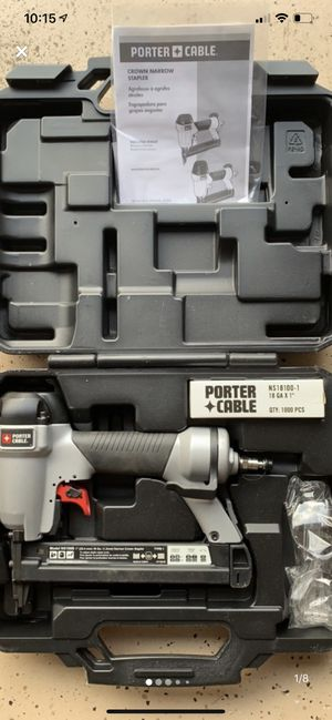 Porter Cable Pneumatic Brad Nailer for Sale in New Market, MD