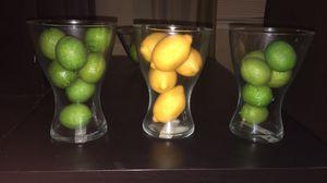 Lemon, Lime, and Apple Vase Fillers for Sale in Orlando, FL
