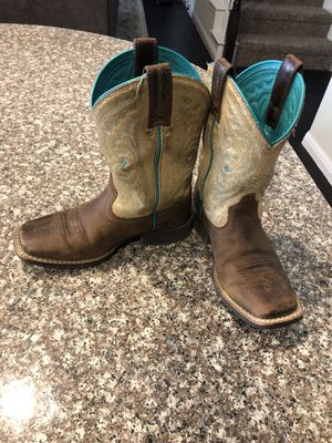 Ariat boots, girls size 12 for Sale in Fort Worth, TX
