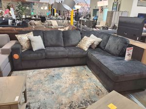 Fabric Sectional Sofa, Slate for Sale in Westminster, CA