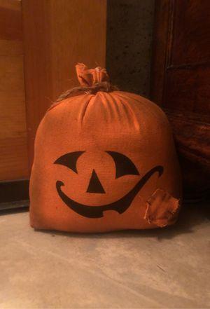 Pumpkin door stopper for Sale in Arnold, MO