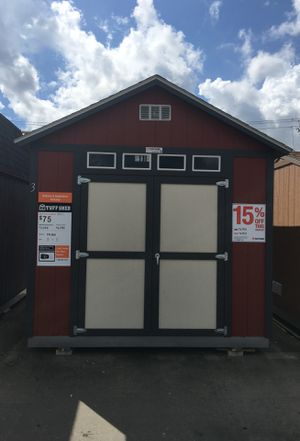 (6523) Tuff Shed storage building display 10x12 TR800 was $4,768 Now $4,053. for Sale in Porter, TX