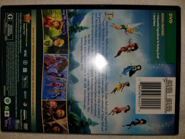 "6 Dvds the first 4 are tinkerbell movies then there is ""Tangled "" and teen beach movie all 6 dvds 25 bucks"