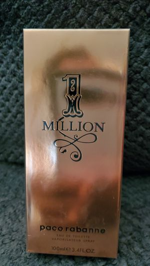 1million perfume 3.4oz for Sale in Olympia Fields, IL