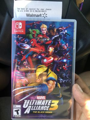 Nintendo Switch: Marvel Ultimate Alliance 3: The Black Order for Sale in Cranston, RI