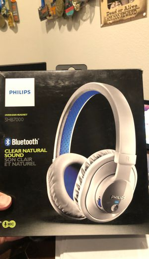 Philips SHB7000 Bluetooth headphones for Sale in Chino, CA