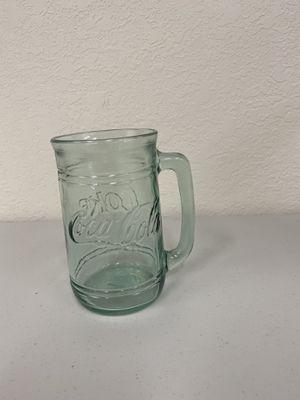 Vintage Green Glass Coca-Cola Mug for Sale in Arvada, CO