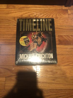 SEALED: Timeline Michael Crichton Big Box (PC) for Sale in Arlington, MA