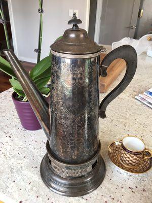 Sterling Silver Tea Pot for Sale in Chicago, IL