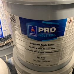 "5gal Sherwin Williams Waterborne Acrylic Dryfall ""7011 NATURAL CHOICE"" for Sale in Maple Valley,  WA"