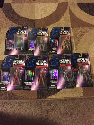 Star Wars collectible action figures for Sale in Los Angeles, CA