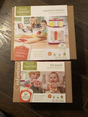 Infantino squeeze station baby food for Sale in Rogers, AR